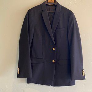 Class Club Navy Blazer with Gold Buttons